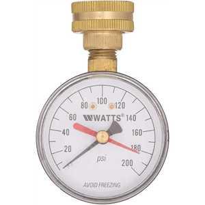 Watts DP IWTG 3/4 in. Plastic Water Pressure Test Gauge
