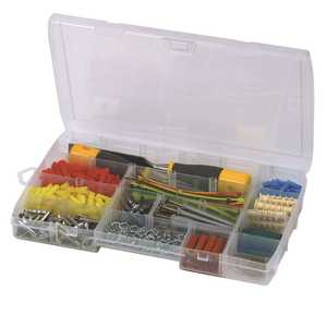 Stanley 014014R 23-Compartment Small Parts Organizer Clear
