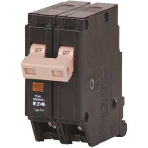 Eaton CHF250 CH 50 Amp 2-Pole Circuit Breaker with Trip Flag
