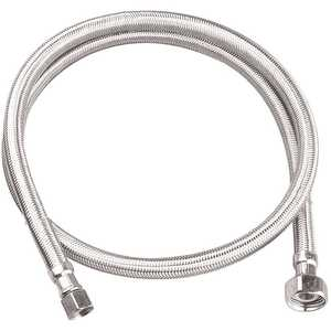 Durapro 157717 3/8 in. Compression x 1/2 in. FIP x 48 in. Braided Stainless Steel Faucet Supply Line