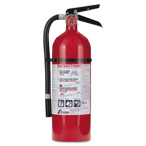 Kidde KID21005779 Pro 210 Fire Extinguisher, 4lb, 2-A, 10-B:C