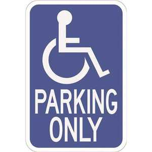 HY-KO PRODUCTS HW13HD 12 in. x 18 in. Handicapped Parking Heavy-Duty Sign