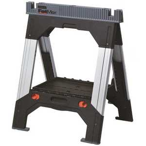 Stanley 011031S 33 in. Plastic Adjustable Folding Sawhorse
