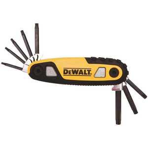 DEWALT DWHT70264 Star Locking Hex Key Set