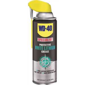 WD-40 300025 10 oz. White Lithium Grease Lubricant Canister