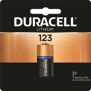 DURACELL 004133366191 Coppertop Ultra Photo 123 Lithium Battery