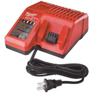 Milwaukee 48-59-1812 M12 and M18 12-Volt/18-Volt Lithium-Ion Multi-Voltage Battery Charger