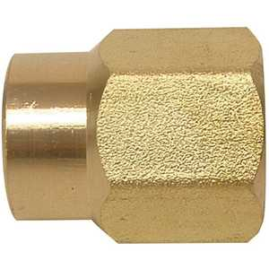 1/2 in. x 3/8 in. Lead-Free Brass FIP Coupling