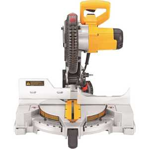 15 Amp Corded 10 in. Compound Miter Saw Yellow