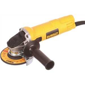 DEWALT DWE4011 7 Amp 4-1/2 in. Small Angle Grinder with 1-Touch Guard Yellow