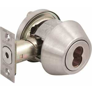 US Lock USX1604SIC32D 1600 GR2 US32D Single Cylinder Deadbolt SFIC Prep(Core Sold Separately) Adjustable Backset