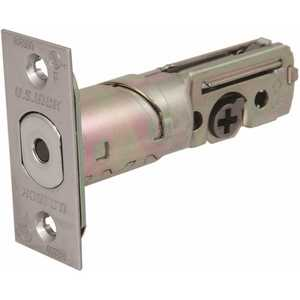 US Lock USX1604BT32D 1600 GR2 Standard Dead Bolt Latch US32D Adjustable Backset