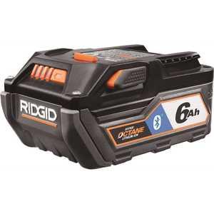 RIDGID AC8400806 18-Volt OCTANE Bluetooth 6.0 Ah Battery
