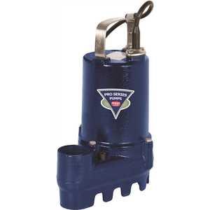 Pro Series Pumps S2033-NS 1/3 HP Cast Iron Submersible Sump/Effluent Pump