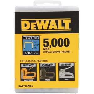 DEWALT DWHTTA7055 5/16 in. Heavy-Duty Staple - pack of 5000