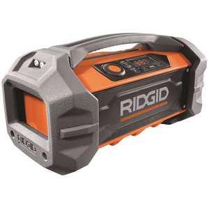 RIDGID R84087 18-Volt Hybrid Jobsite Radio with Bluetooth Wireless Technology (Tool Only)