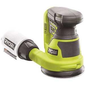 RYOBI P411 18-Volt ONE+ Cordless 5 in. Random Orbit Sander (Tool-Only) Green