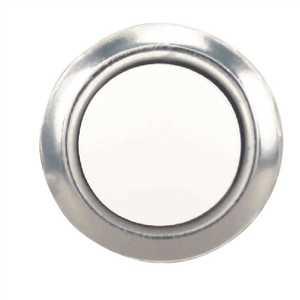 Hampton Bay HB-604-02 Wired Lighted Door Bell Push Button Insert, Nickel