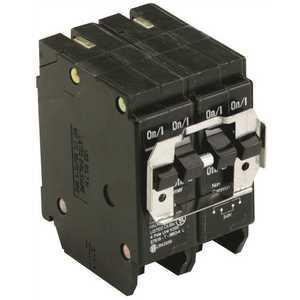 Eaton BQC230250 BR 1-30 Amp 2 Pole and 1-50 Amp 2 Pole BQC (Common Trip) Quad Circuit Breaker