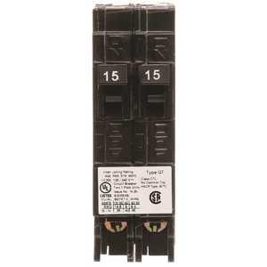 Siemens Q1515U 15 Amp Tandem Single Pole Type QT Circuit Breaker