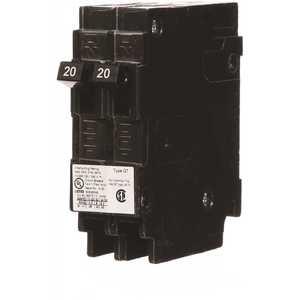 Siemens Q2020NC (2) 20 Amp Tandem Single Pole Type QT NCL-Circuit Breaker