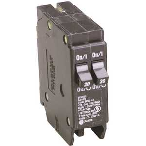 Eaton BD2020 BD 2-20 Amp Single Pole Tandem CTL Circuit Breaker