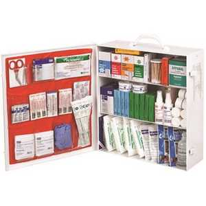 Honeywell Safety FAK3SHLF-CLSB North Industrial 3-Shelf Class B First Aid Steel Station White