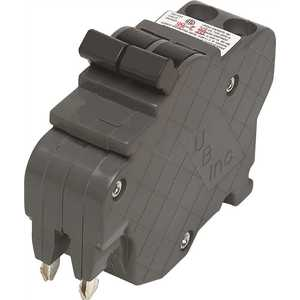 Connecticut Electric UBIF0220N New UBIF Thin 20 Amp 1 in. 2-Pole Federal Pacific Stab-Loc Type NC Replacement Circuit Breaker
