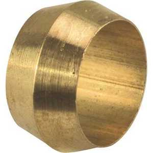 BRASS COMPRESSION SLEEVE 3/4 IN - pack of 15
