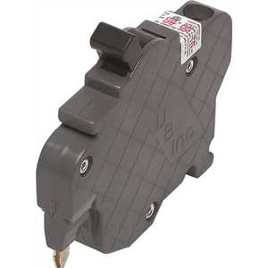 Connecticut Electric UBIF015N New UBIF Thin 15 Amp 1/2 in. 1-Pole Federal Pacific Stab-Lok NC115 Replacement Circuit Breaker