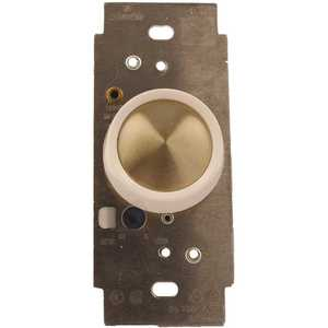 Leviton 6616-1XW 5-Amp Trimatron Single Pole Full Range Rotary Fan Speed Control, White