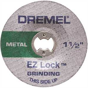 Dremel EZ541GR EZ Lock Metal Grinding Rotary Tool Wheel for Metal