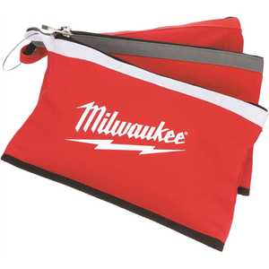 Milwaukee 48-22-8193 12 in. Zipper Tool Bag in Multi-Color - pack of 3