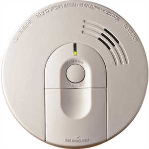 Kidde 21007581 Hardwire Smoke Detector with 9V Battery Backup and Front Load Battery Door