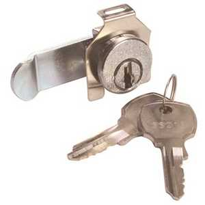 National Brand Alternative 804421 Zinc Alloy Mailbox Lock