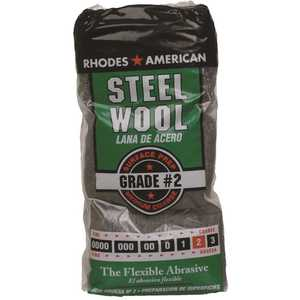 Homax 10121112-6 #2 12 Pad Steel Wool, Medium Coarse Grade