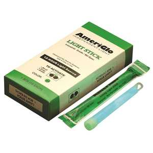 Ameriglo AML612HG10B LIGHT STICKS, 12 HOUR, 6 IN., GREEN - pack of 10