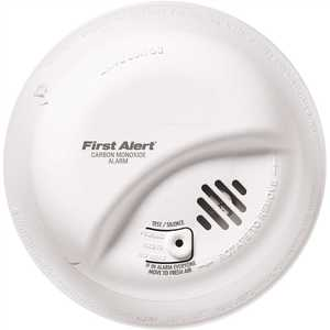 First Alert CO5120BN Hardwired Interconnect Carbon Monoxide Alarm with Battery Backup