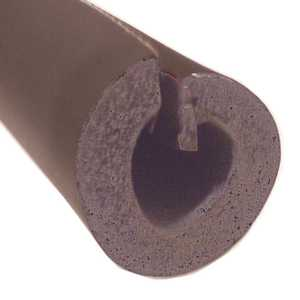 Thermwell Products SP515XB6 1-1/4 in. x 1/2 in. Thick Wall x 6 ft. Self Seal Tubular Poly Foam Pipe Insulation
