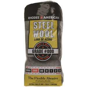 Homax 10121000 #3/0 12 Pad Steel Wool, Extra Fine Grade
