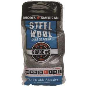 Homax 10121110-6 #0 12 Pad Steel Wool, Fine Grade