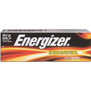 EVEREADY BATTERY EN22 9-Volt Energizer Industrial Alkaline Battery