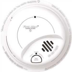 BRK Brands 9120B Brands 120-Volt Hardwire, Ionization Sensor Smoke Alarm Detector Perfect Mount with Battery Backup