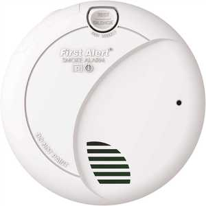First Alert 7010B Hardwired Interconnected Smoke Alarm with Battery Backup
