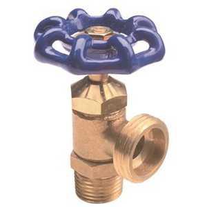 Watts 0123620 1/2 in. Brass Boiler Drain Lead Free