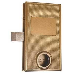 Marks W3700 Reversible Swinging Gate Lock Single Cylinder BRONZE