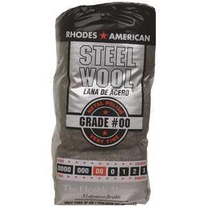 Homax 10121100-6 #2/0 12 Pad Steel Wool, Fine Grade