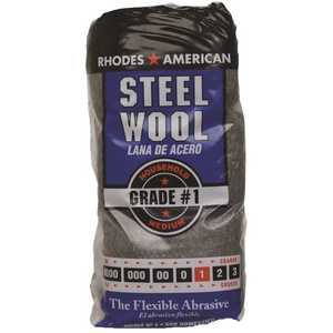 Homax 10121111-6 #1 12 Pad Steel Wool, Medium Grade