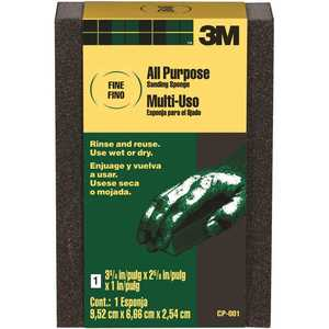 3M CP-001 2-5/8 in. x 3-3/4 in. Fine All-Purpose Sanding Sponge