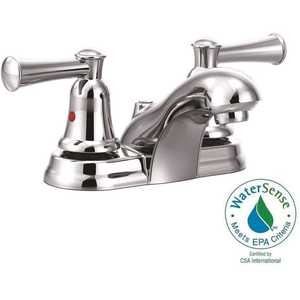 Cleveland Faucet Group CA41213 Capstone 4 in. Centerset 2-Handle Bathroom Faucet with Pop-Up Assembly in Chrome